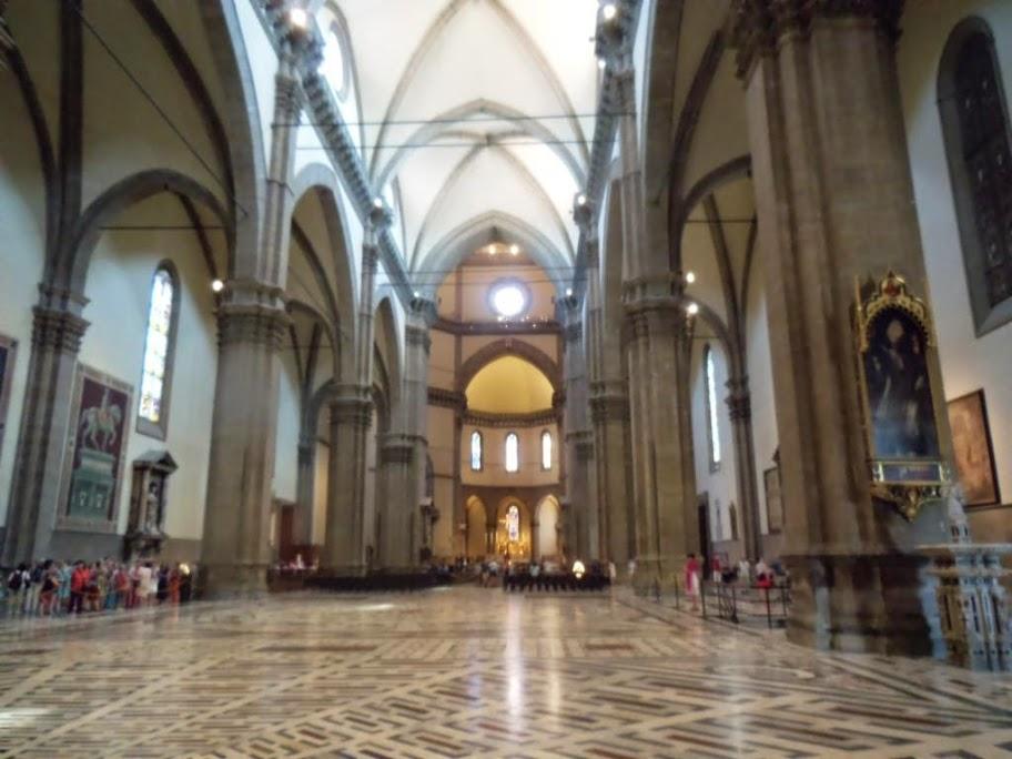 Interior de la Catedral de Florencia