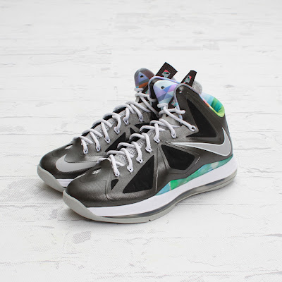 nike lebron 10 gr prism 4 03 On to the next one... Nike LeBron X Prism   New Photos
