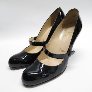 Christian Louboutin Patent Leather Mary Jane Pumps
