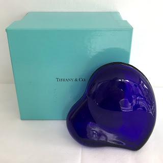 Tiffany & Co Elsa Peretti Cobalt Heart Box