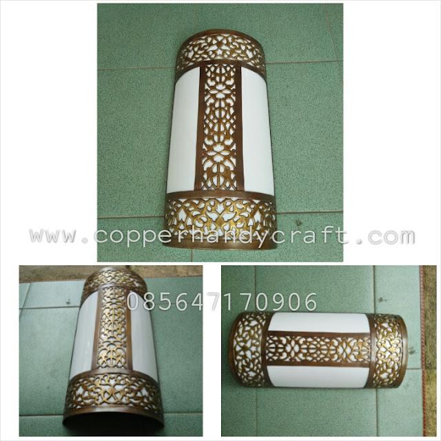 Jual Lampu Dinding Tembaga - Pengrajin Lampu Tembaga - Suplier Lampu Tembaga - Harga Lampu Dinding Tembaga - Ukuran Lampu Dinding Tembaga - Jual Lampu Tembaga di Boyolali - Sentra Lampu Tembaga di Boyolali