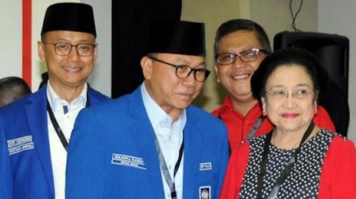Singgung soal Cebong-Kampret, Zulhas: Suatu Kehormatan Bila PAN Diajak Koalisi PDI Perjuangan