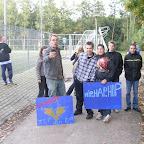 De supporters van de J J Boumanschool (Dokkum)