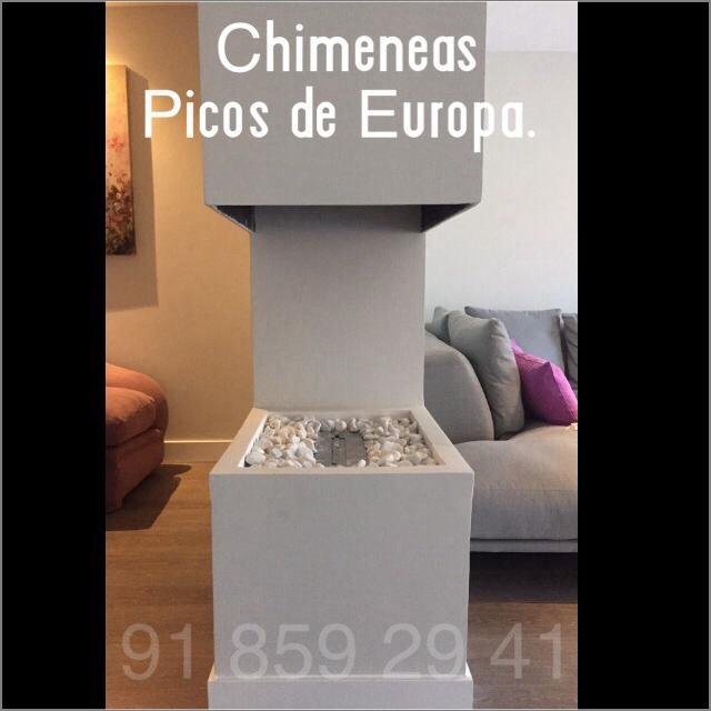 Chimeneas picos de europa chimenea para separar espacios - Chimeneas picos de europa ...