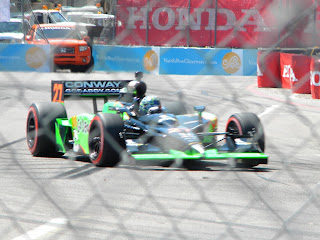 Mike Conway #27 at Honda Grand Prix of St. Petersburg
