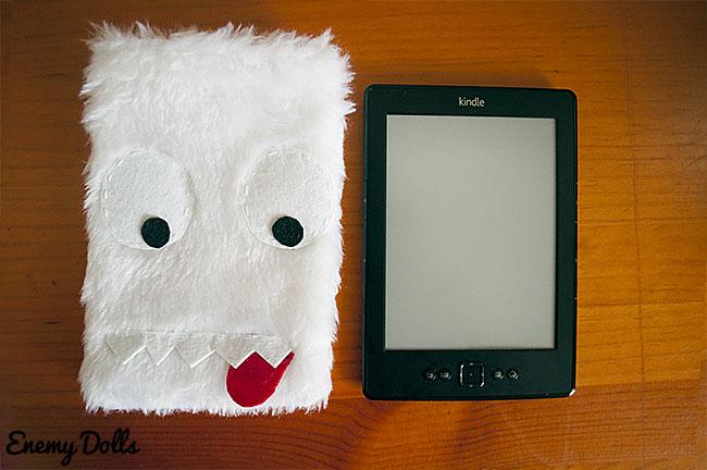 funda kindle monstruo hecho a mano ebook