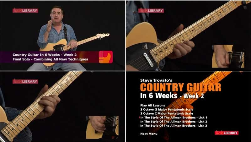 Steve Trovato's Country Guitar in 6 Weeks preview