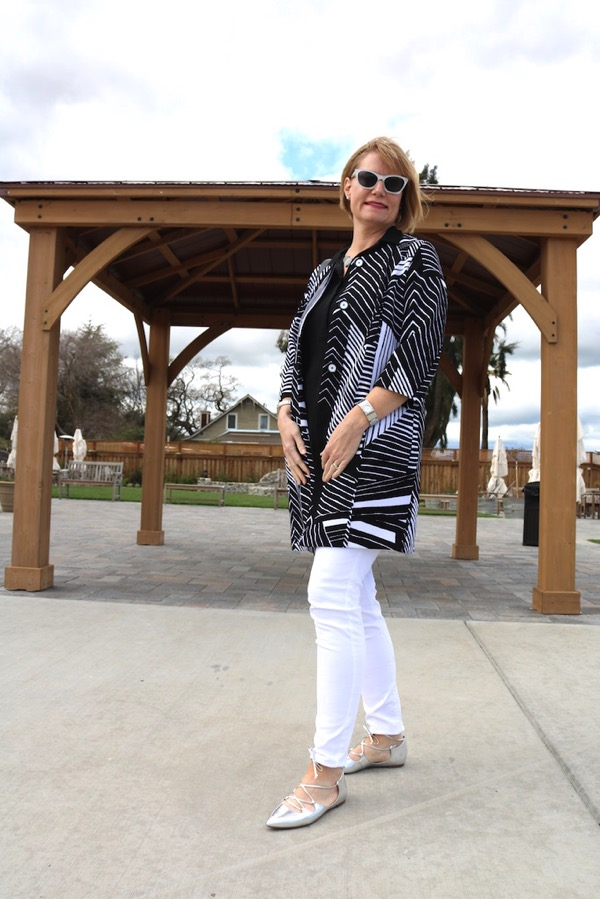 Black and White Outfit 2