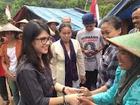 Hari Ini, Dian Sastro Berkunjung ke Tenda Perjuangan Rembang