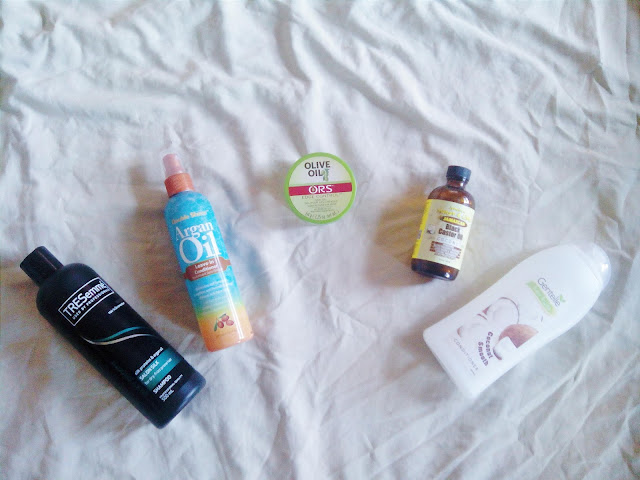 My Top 5 Natural Hair Products