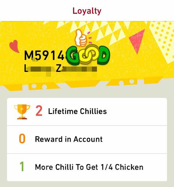 Nando's mobile app