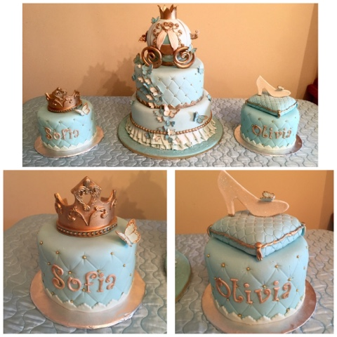 Leelees Cakeabilities Cinderella cake and sweets