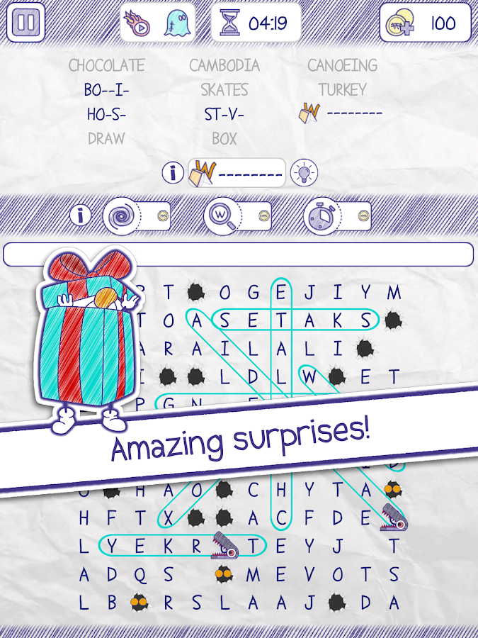 Worchy! Word Search Puzzles- screenshot