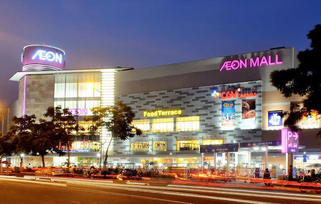 Aeon Mall Tân Phú chuyển nhà