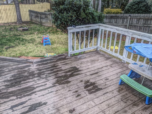 Backyard deck free picture for download