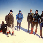1983.03  Carn Dearg Monadhliath summit party.jpg