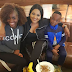 Gbem: Mercy Aigbe and her kids hit the streets of London for vacation (photos)