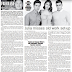 my PEOPLE'S JOURNAL column: JULIA BARRETTO SHINES AS THE CLAIRVOYANT HEROINE IN TV5'S 'DI NA MULI'/  my REVIEW OF THE OLD-FASHIONED WESTERN 'APACHE JUNCTION'