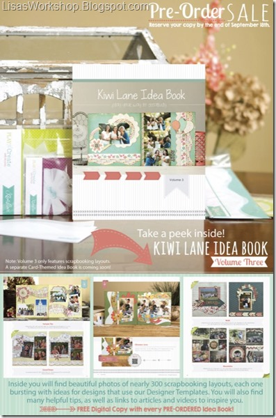 Kiwi Lane Idea Book - Volume 3
