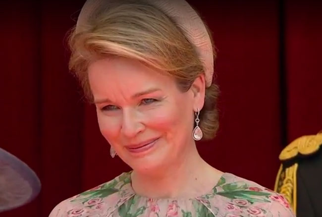 Queen Mathilde is Emotional as Princess Elisabeth takes part in first Military Parade