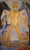 'AHMYO'- Acryl auf Leinwand, 130x210, Okt. 2010