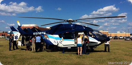 Sanford AirMed open house 07312017