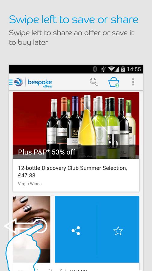 Bespoke Offers- screenshot