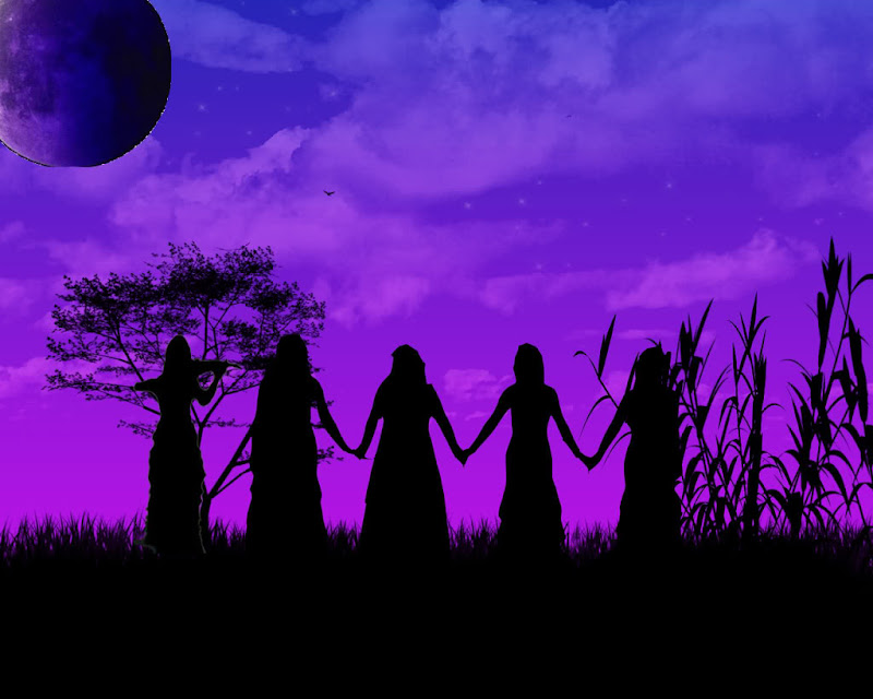 Celtic Silhouette, Celtic And Druids
