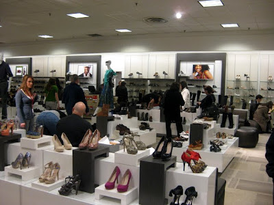 Shoe Department at JCPenney at the Lehigh Valley Mall in Whitehall, PA - Photo by Michelle Judd of Taste As You Go
