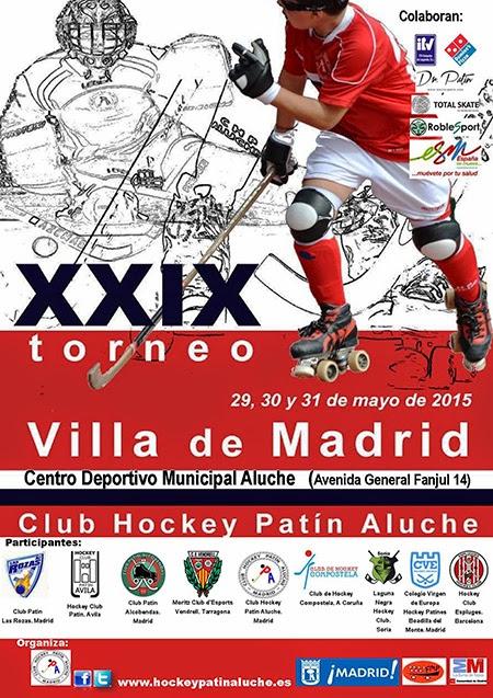 XXIX Torneo Villa de Madrid de Hockey sobre Patines