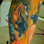 wild Horse - Horse Tattoos