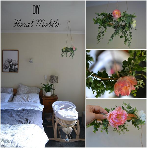 DIY Floral Mobile