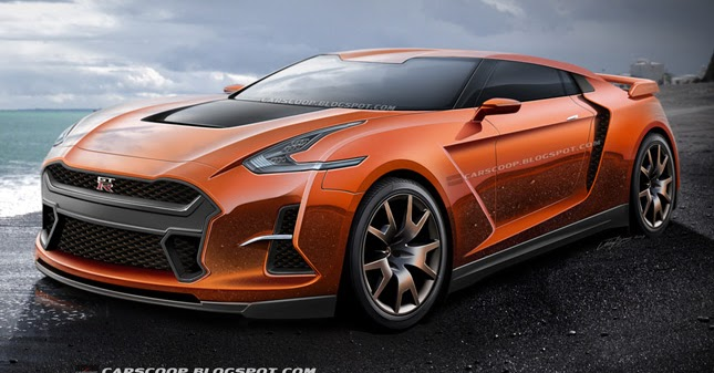 Future Cars: CarScoop's Vision of the 2017 Nissan GT-R