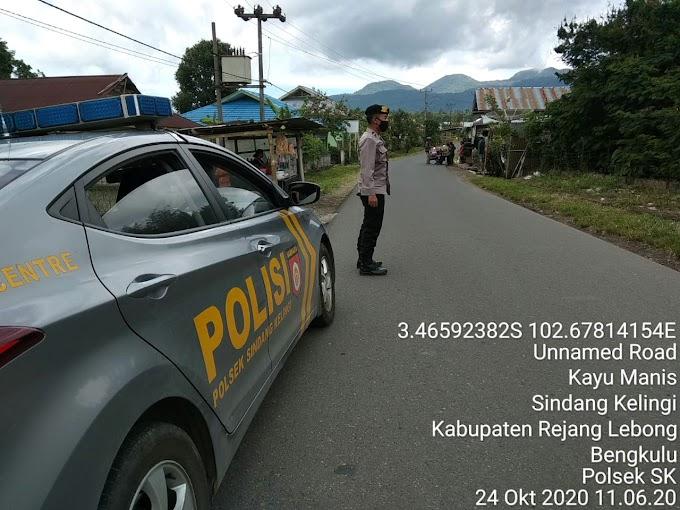Patroli Rutin jalur Lintas Sindang Kelingi - Padang ulak tanding.