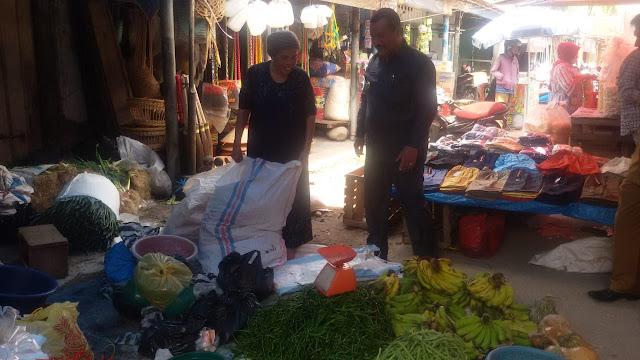 Pedagang Balai Kuraitaji Keluhkan Toilet Bocor ke Mardison
