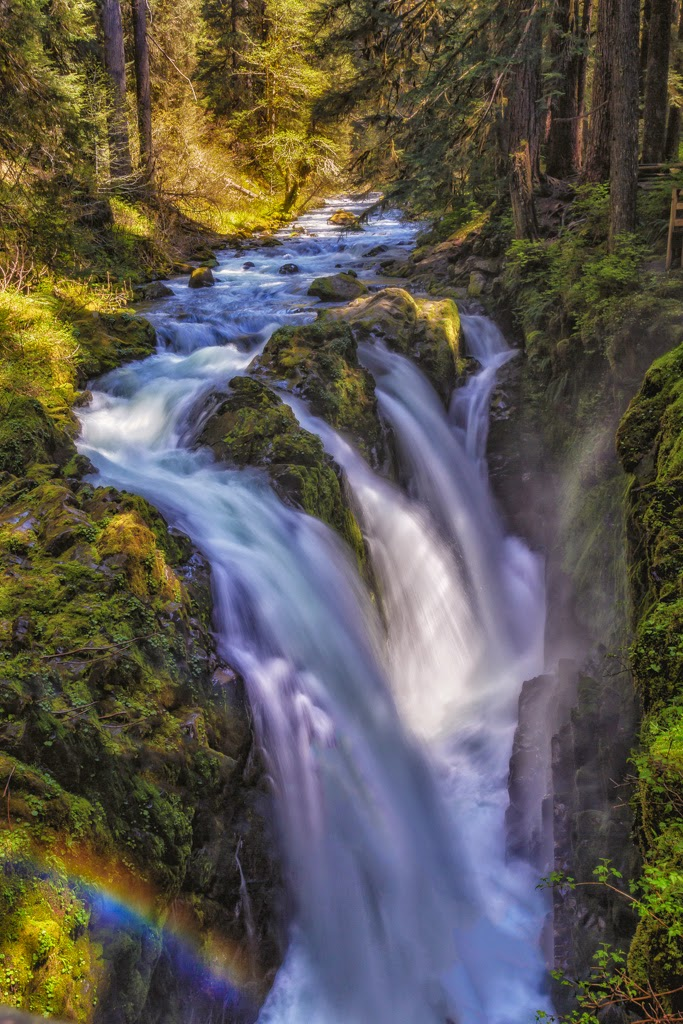 """""""The Falls"""" by Roy Kropp -- 2nd place Print"""