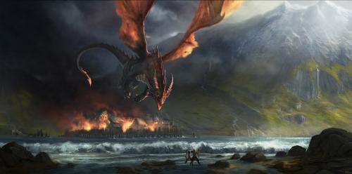 Dragon Attack, Dragons
