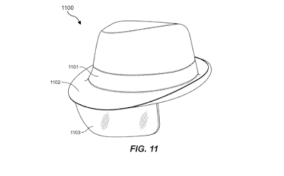 Будущее  дополненной реальности в шляпе. Facebook запатентовал четкую AR кепку.