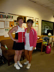 Ladies Doubles Finalists: Roisin and Nancy