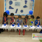Blue Day Celebrated by Playgroup Afternoon Section at Witty World, Chikoowadi (2017-18)