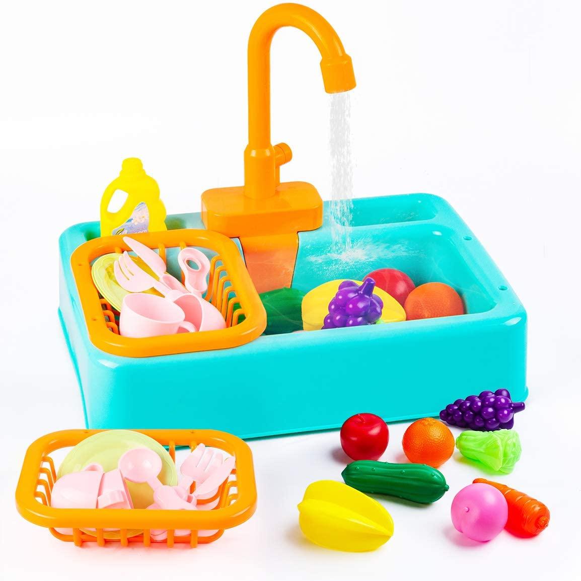 amazon pretend kitchen sink toy