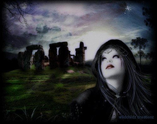 Blind Witch And Stonehenge, Pretty Witches