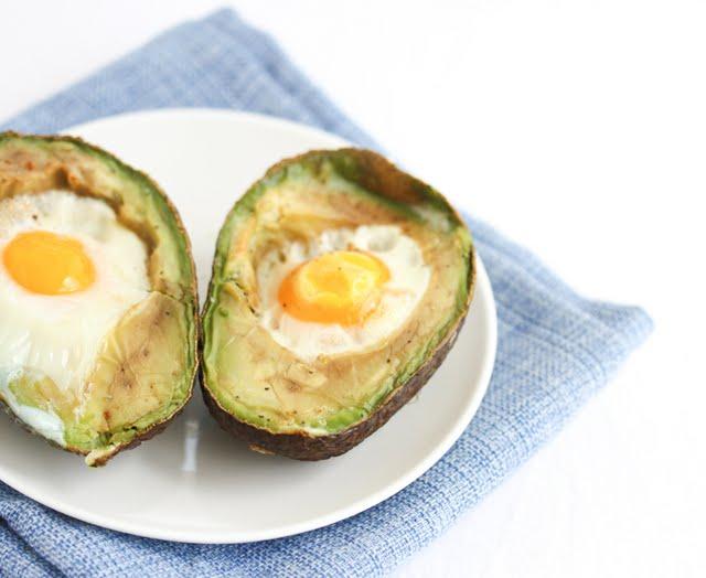 close-up photo of Avocado Egg Cups