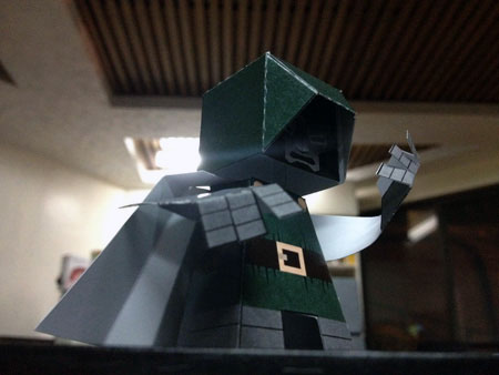 Doctor Doom Paper Toy
