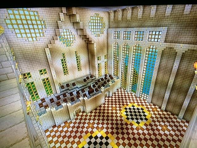 My minecraft creations for Minecraft foyer ideas