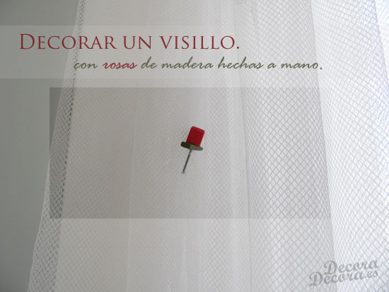 Decorar visillo.