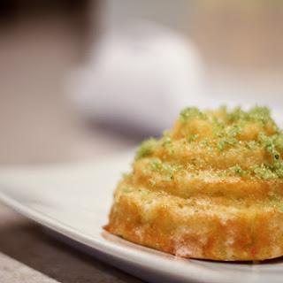 Lemon Basil Bundt Cake.