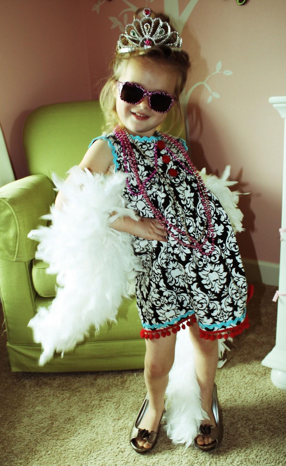 Diy Fancy Nails: DIY Fancy Nancy Dress