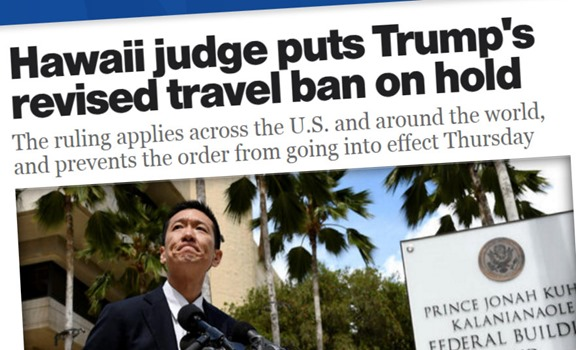 Travel ban banned