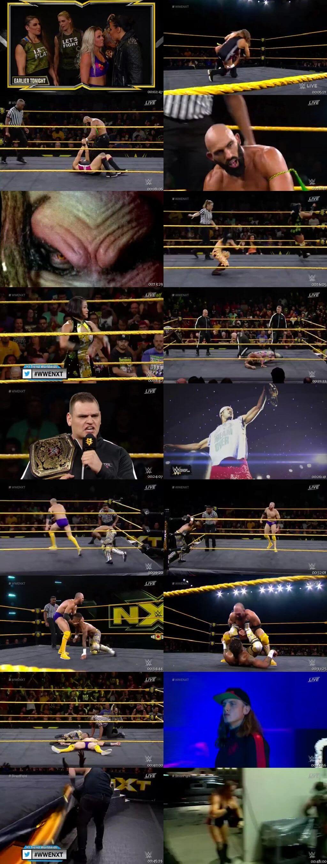 Screen Shot Of WWE NXT 18th September 2019 HDTV 480P 300MB